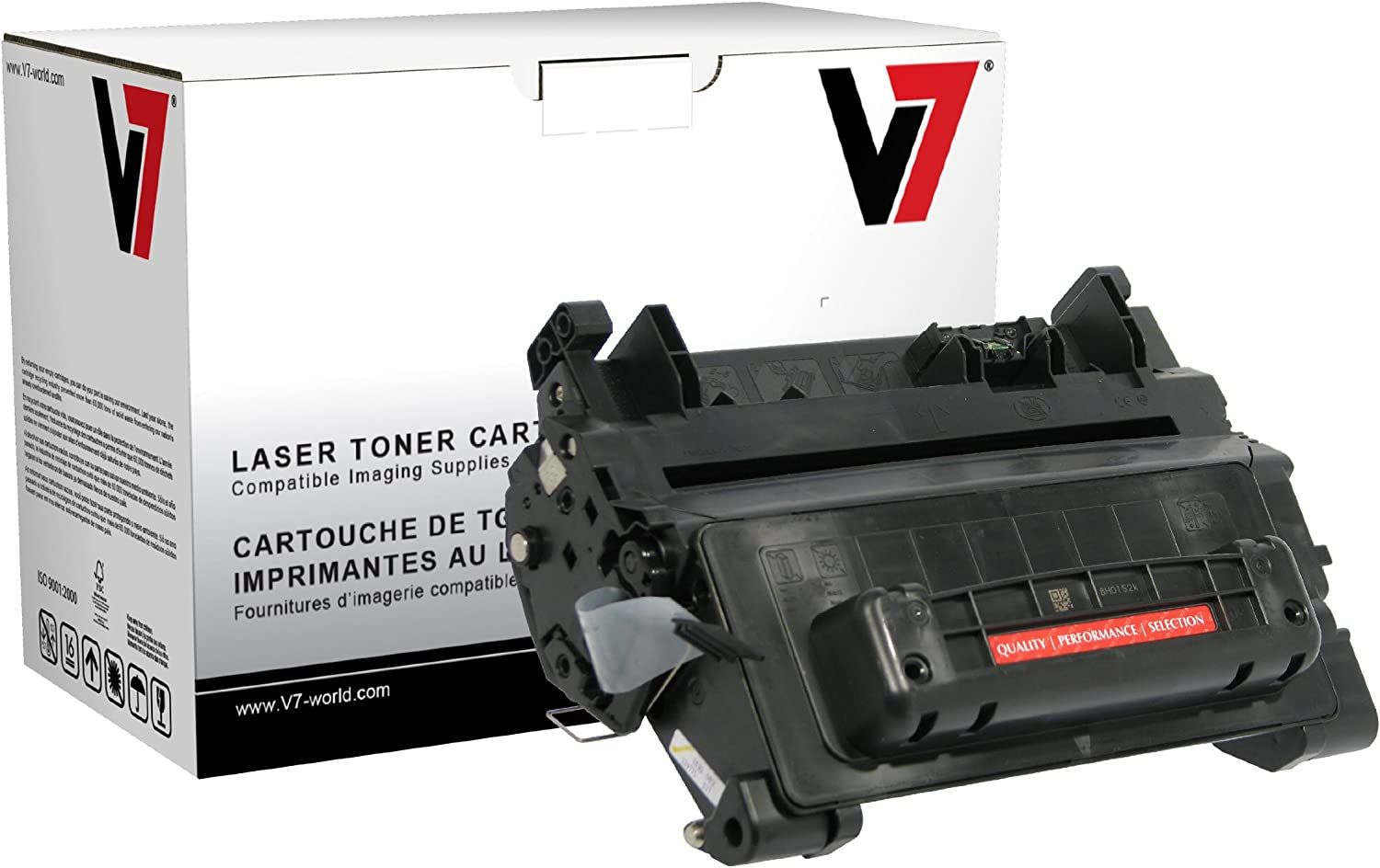 V7 THK2364AHM Remanufactured MICR Toner Cartridge for HP CC364A (HP 64A), TROY 02-81300-001 - 10000 page yield,Black