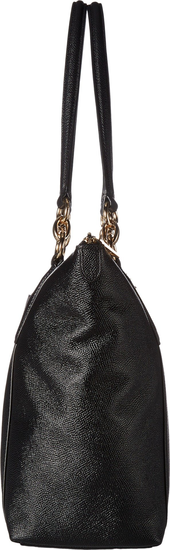 COACH Women's Crossgrain Ava Tote Im/Black One Size by Coach (Image #3)