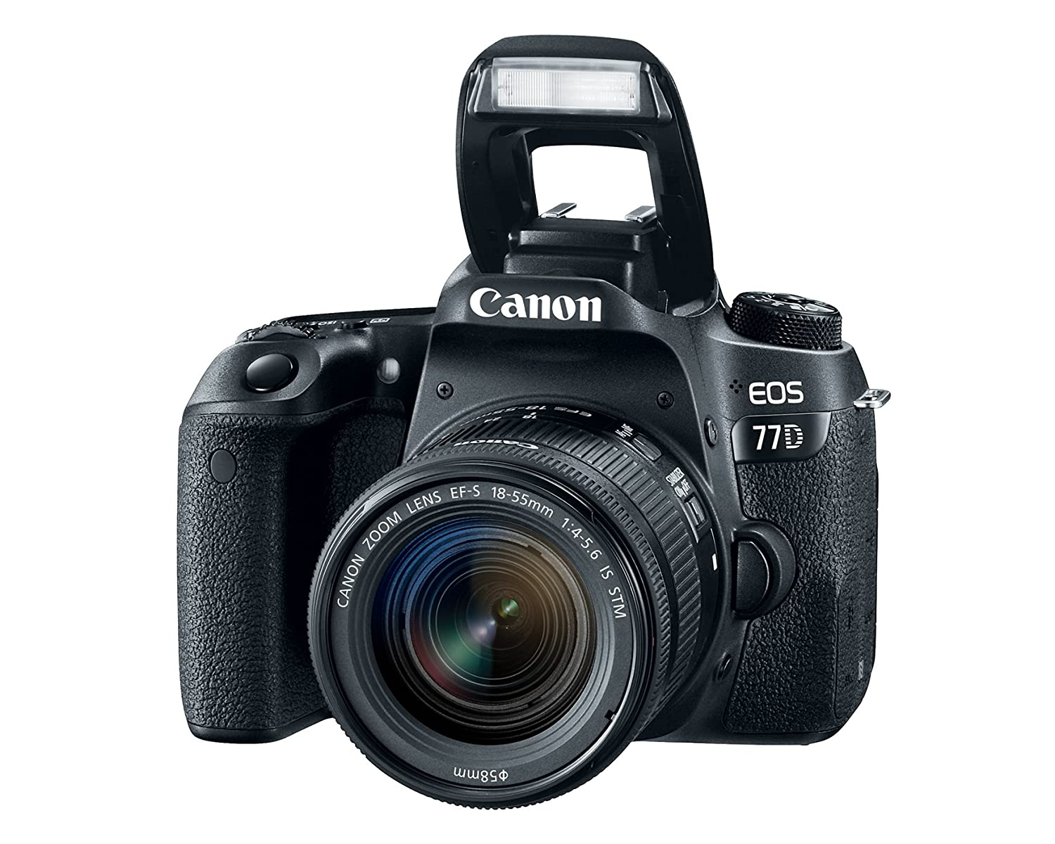 Amazon.com : Canon EOS 77D EF-S 18-55 IS STM Kit : Camera & Photo