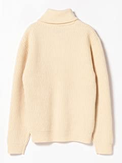 Wool Pullover Shawl Collar Sweater 11-15-0883-103: White