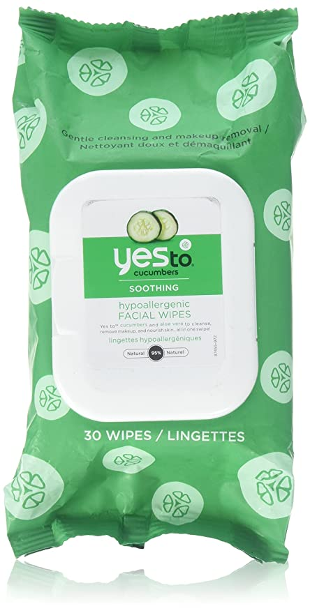 Yes To - pepinos toallitas Facial resplandor Natural - 30 Towelette(s)
