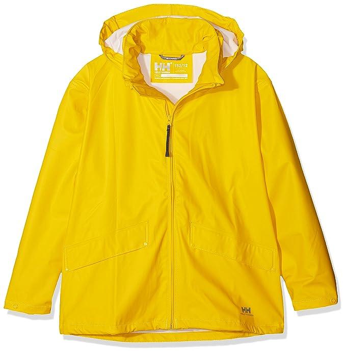 fa13e4dc Amazon.com: Helly Hansen Boy's Voss Rain Jacket: Clothing