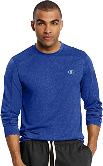 Champion -Camisa Hombre Azul Surf The Web Heather S (US Talla): Amazon.es: Ropa y accesorios