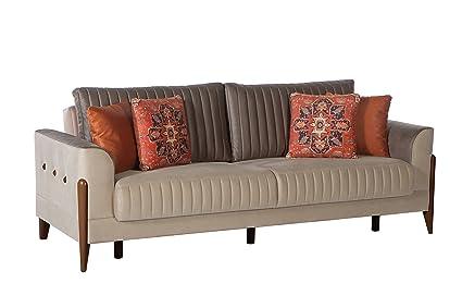 Amazon Com Istikbal Multifunctional Furniture Living Room Set Piero