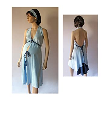 d3a57a91b3 Image Unavailable. Image not available for. Color  Pretty Pushers Labor   Delivery  Gown ...