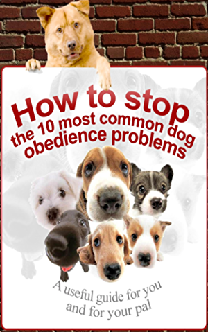 Dog Training: How To Stop The 10 Most Common Dog Obedience Problems (Behavior Training For Dogs; Dog Common Problems)