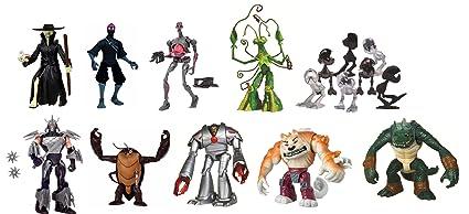 buy tmnt villains 10 piece set teenage mutant ninja turtles