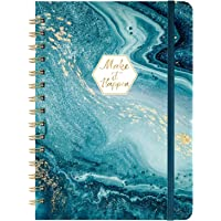 "Ruled Notebook/Journal - Lined Journal with Hardcover and Premium Thick Paper, 8.5"" x 6.5"", College Ruled Spiral…"