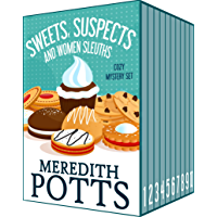 Sweets, Suspects, and Women Sleuths Cozy Mystery Set