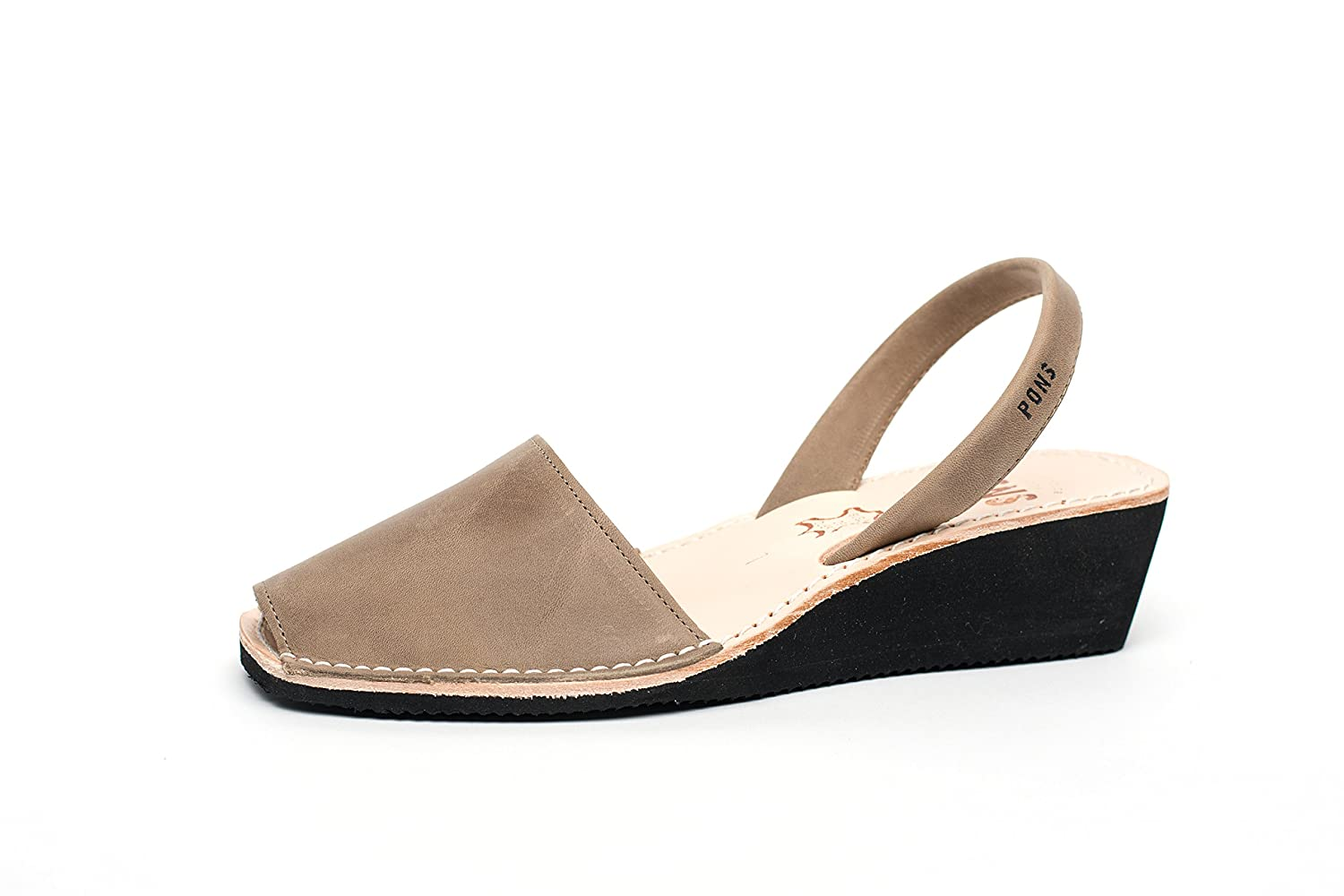 Taupe Pons 2021 - Avarca Wedge Taupe