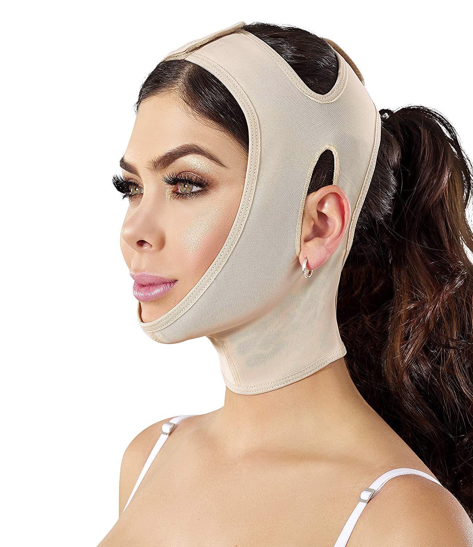 Amazon.com: Correa para la barbilla, soporte para el cuello ...