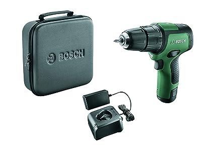 Bosch EasyImpact 12 - Taladro atornillador de impacto (1 batería, sistema de 12 V, en bolsa)