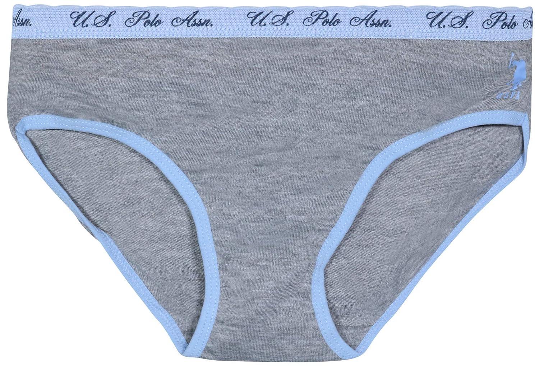 Girls Soft Stretch Underwear U.S Polo Assn 10 Pack