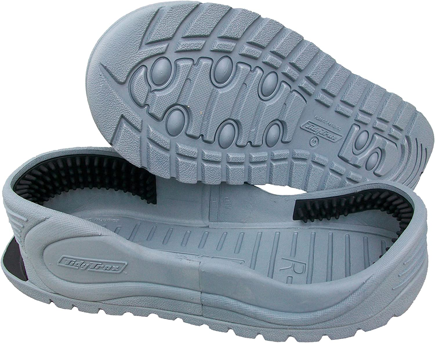 Tidy Trax M Hands Free Shoe Covers , Size M,GREY