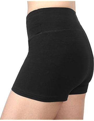 433c190840bd Sugar Pocket Womens Active Gym Workout Shorts Cycling Running Shorts
