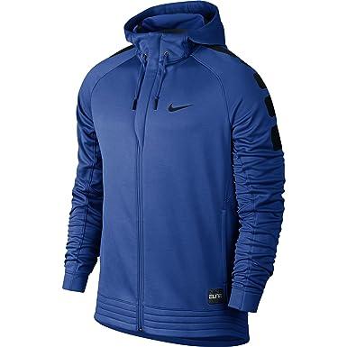 Nike Elite Stripe Hoodie - Men's Tumbled Grey/Deep Pewter/Black