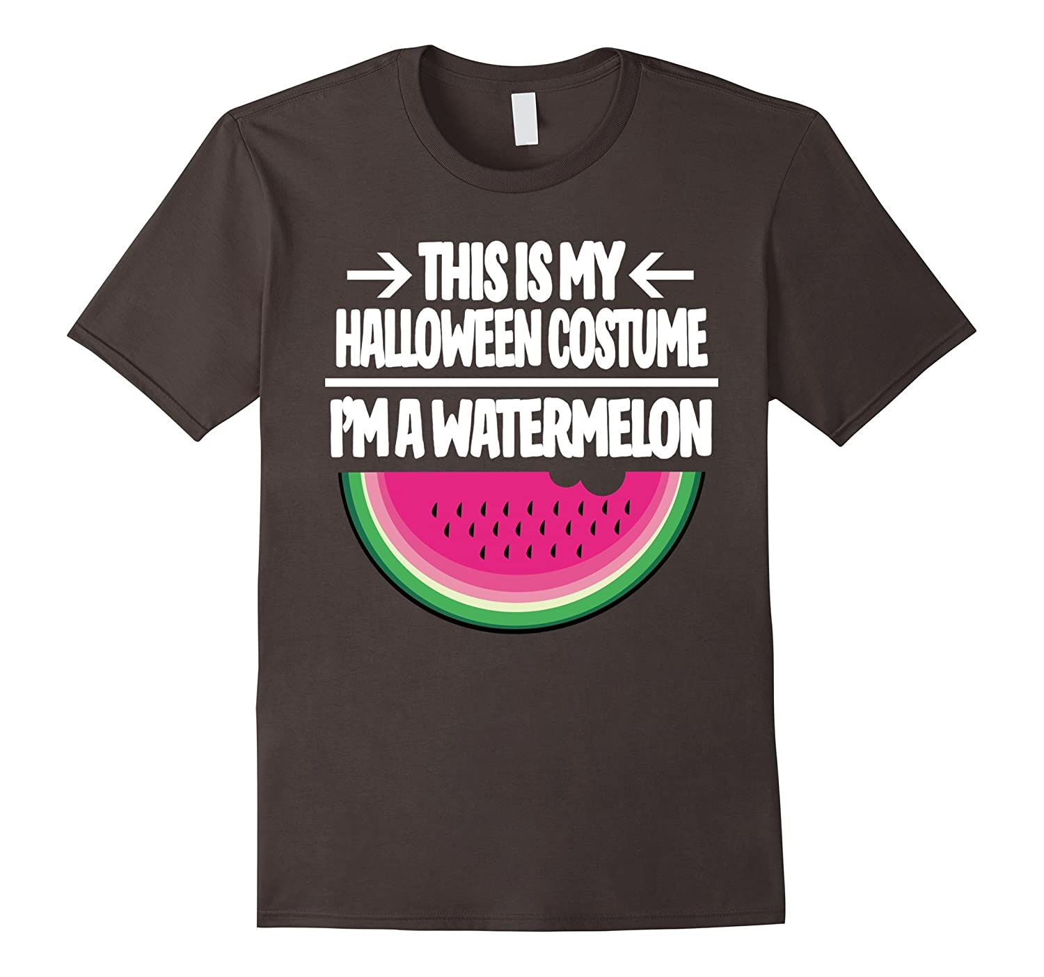 Watermelon Halloween Costume Shirt - Men Women Youth Sizes