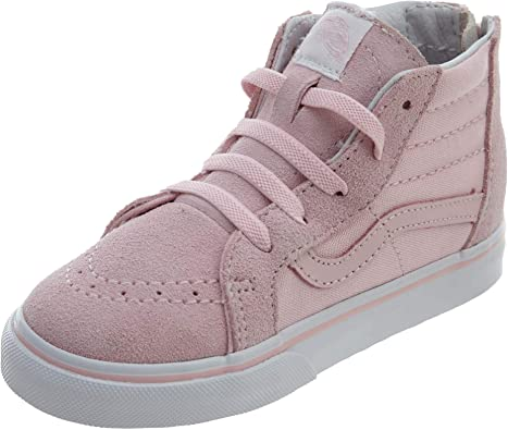 Vans Kids K SK8-HI Zip Chalk Pink True