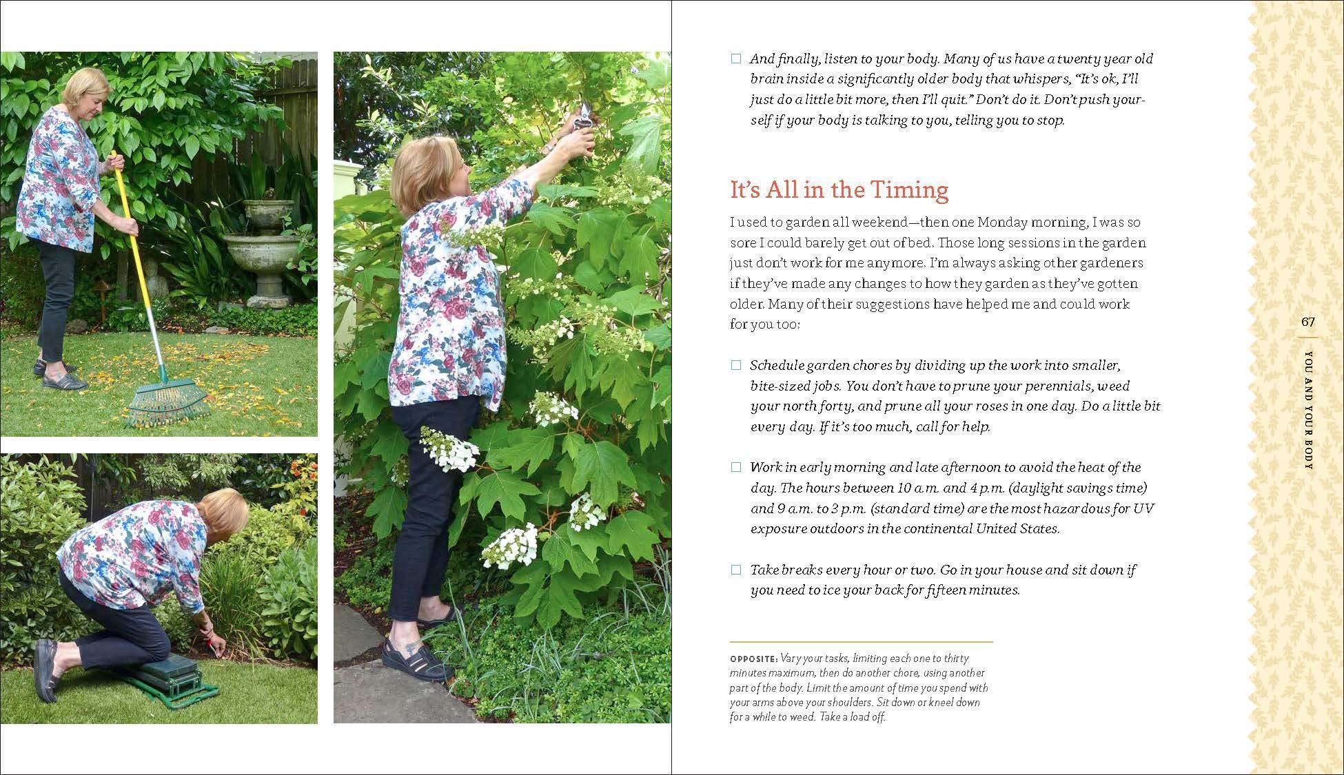 The Brains Secret Gardeners >> Amazon Com The Lifelong Gardener Garden With Ease And Joy
