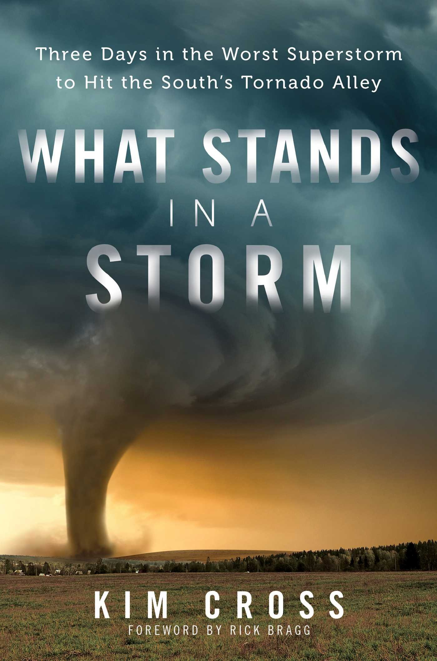 What Stands In A Storm: Three Days In The Worst Superstorm To Hit The  South's Tornado Alley: Kim Cross, Rick Bragg: 0884813074966: Amazon:  Books