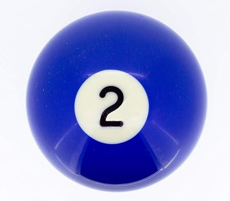 Premiergames - Bolas de Billar (57,2 mm), Nr. 2, 57,2mm: Amazon.es: Deportes y aire libre