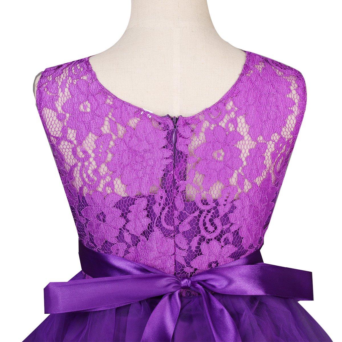 Vestido de Niña de Flores la Boda Pageant Vestidos Princesa de Baile ...