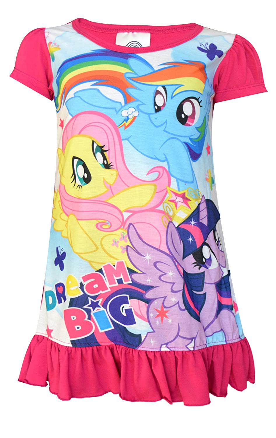 Girls Official My Little Pony Friendship Forever Nightdress 2 to 8 Years