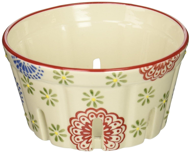 American Atelier Round Ceramic Berry Basket Multicolor 5 1182590 5