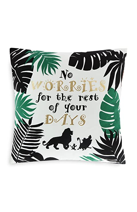 Primark Home The Lion King - Cojín Oficial (45 x 45 cm, sin ...