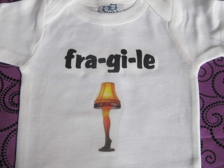 Fragile onesie Fra-gi-le Christmas funny infant one piece