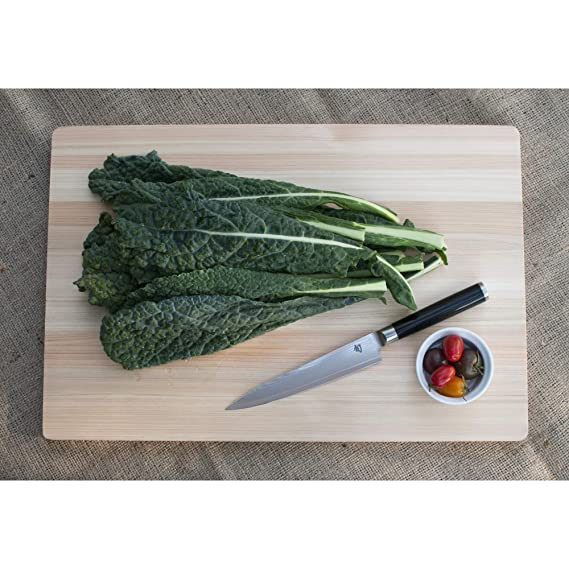 """Shun Classic 6"""" Utility Knife with Ebony PakkaWood Handle and Strong VG-MAX Cutting Core; Blade Size Versatile for Trimming, Peeling and Sectioning; ..."""