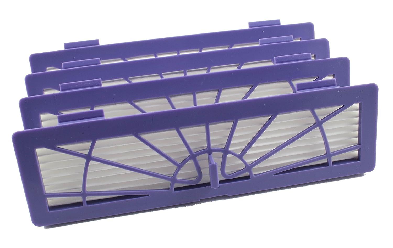 Paquet avec 4 filtres haute performance pour Neato Botvac de Hannets®