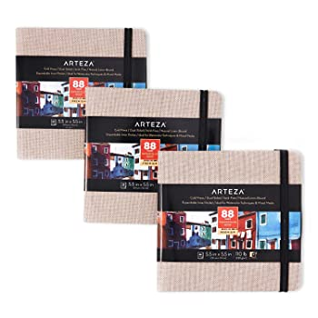 Arteza 132-Sheets Watercolor Paper