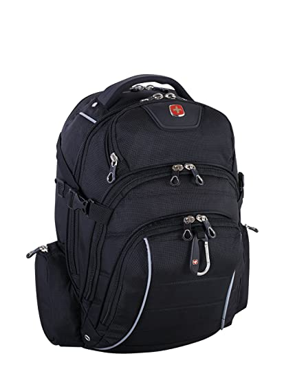 986efd5a7b4e Swiss Gear International Carry-On Size Rainproof Backpack for Laptop - Fits  15.6-Inch to 17.3-Inch Laptop