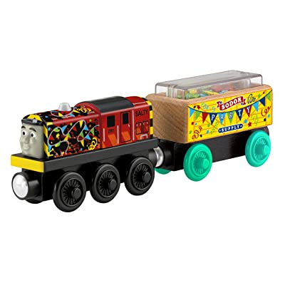 Fisher-Price Thomas & Friends Wooden Railway, Celebration Salty: Toys & Games