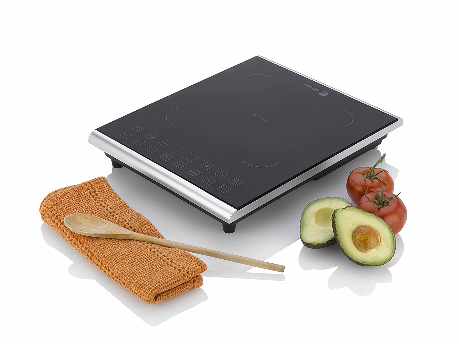 Amazon.com: Fagor Portable 1800 Watt Induction PRO Magnetic Cooktop, Black    670041900: Kitchen U0026 Dining