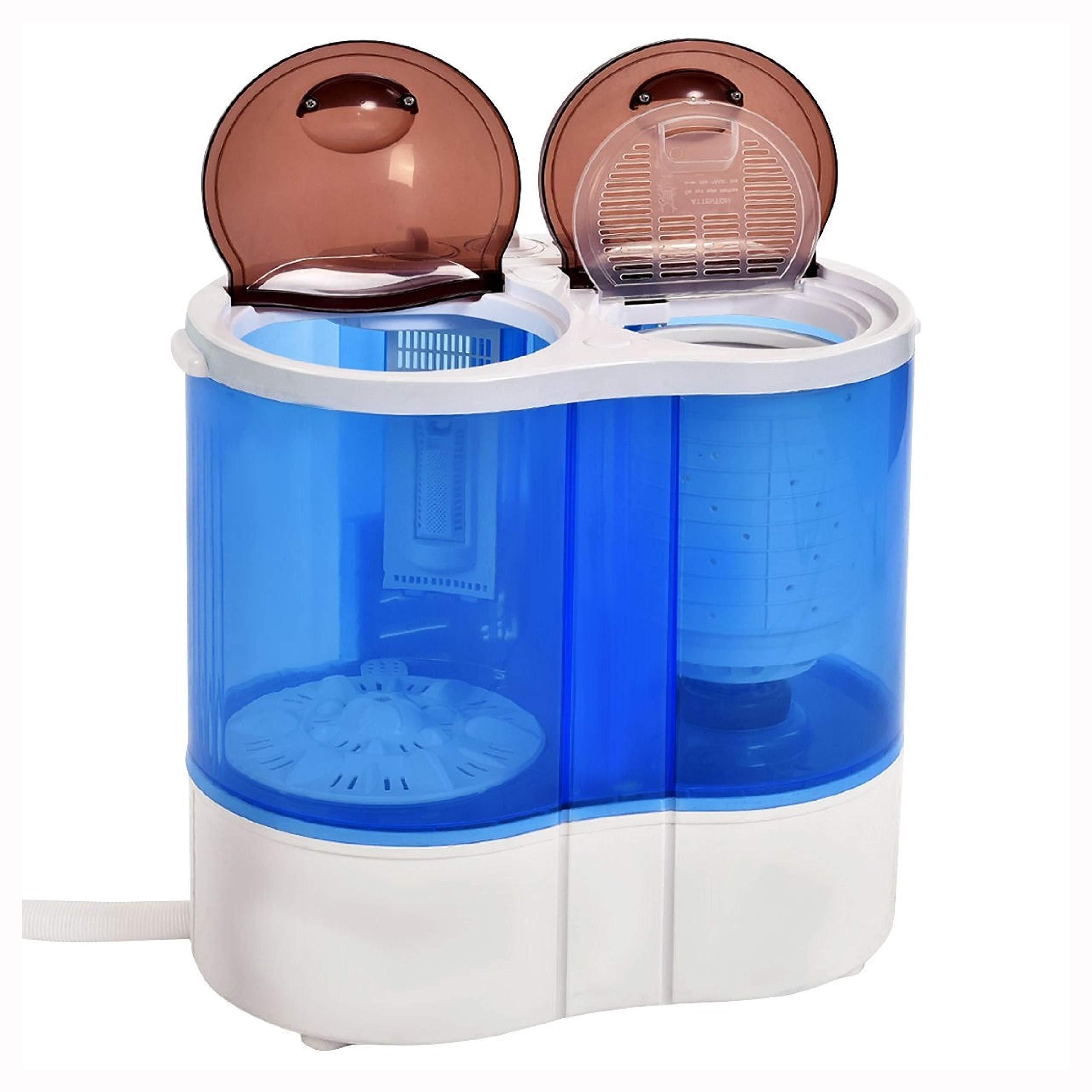 Washing Machine, 15 lbs Portable Compact Twin Tub Mini Washing Machine by HomyDelight (Image #7)