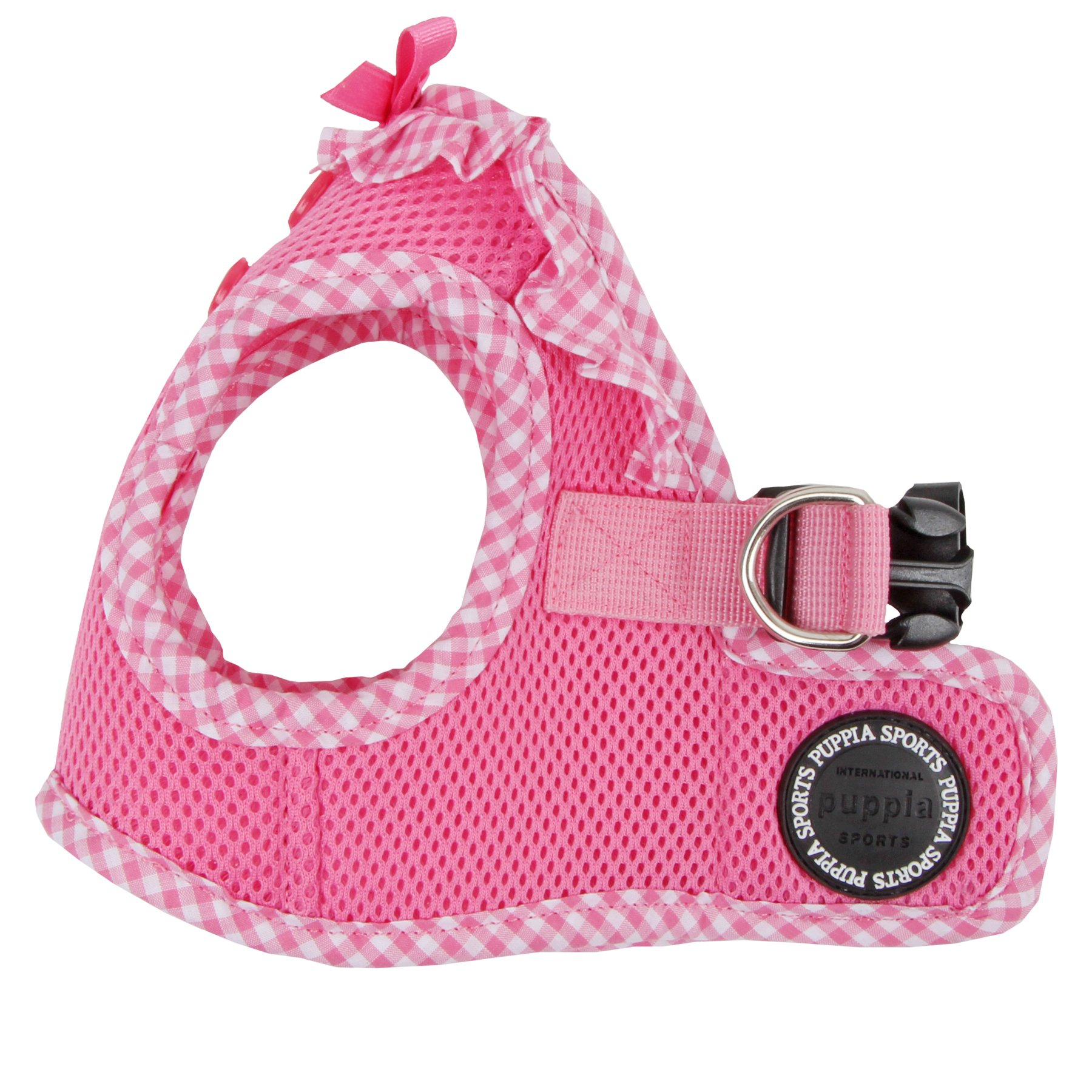 Puppia Authentic Vivien Vest Harness B, Medium, Pink