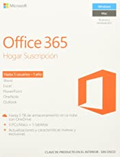 Microsoft Office 365 Hogar Premium (5PC o Mac)