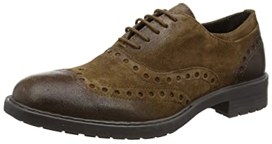 Geox Men's Kapsian 1 Oxford, Ebony, ...
