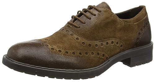 Hombre Zapatos grises de vestir formales Geox para hombre