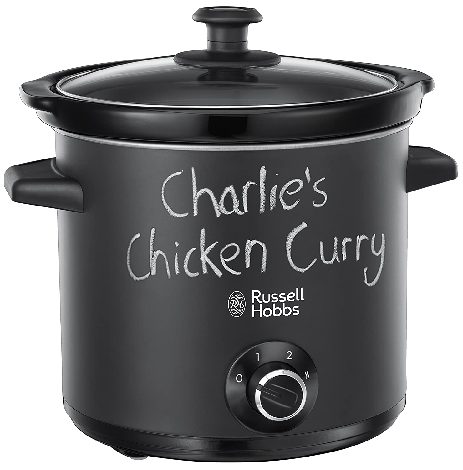 Russell Hobbs 24180-56 Slow Cooker, 200 W, Nero