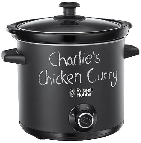 Russell Hobbs 24180-56 - Olla de cocción lenta, 3 Temperaturas, 3.5 L