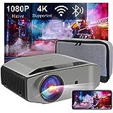 Artlii Energon 2 Native 1080P projector, 4K Supported, Bluetooth 2.4G/5G Wifi Projector, 340ANSI, Screen Miracast, Keystone,