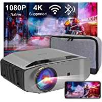 "Beamer Full HD WiFi Bluetooth, Artlii Energon2 Native 1080P Projector, 4K Ondersteund, 2.4G / 5.0G WiFi, Max 300"" Scherm…"