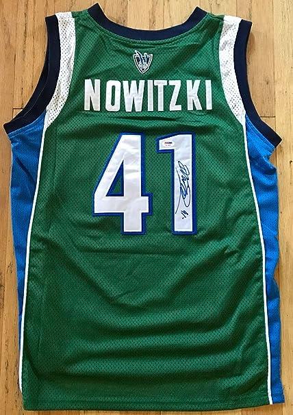 6e0b69d72cf4 ... usa autographed dirk nowitzki jersey large coa psa dna certified  autographed nba jerseys e8805 81cdb