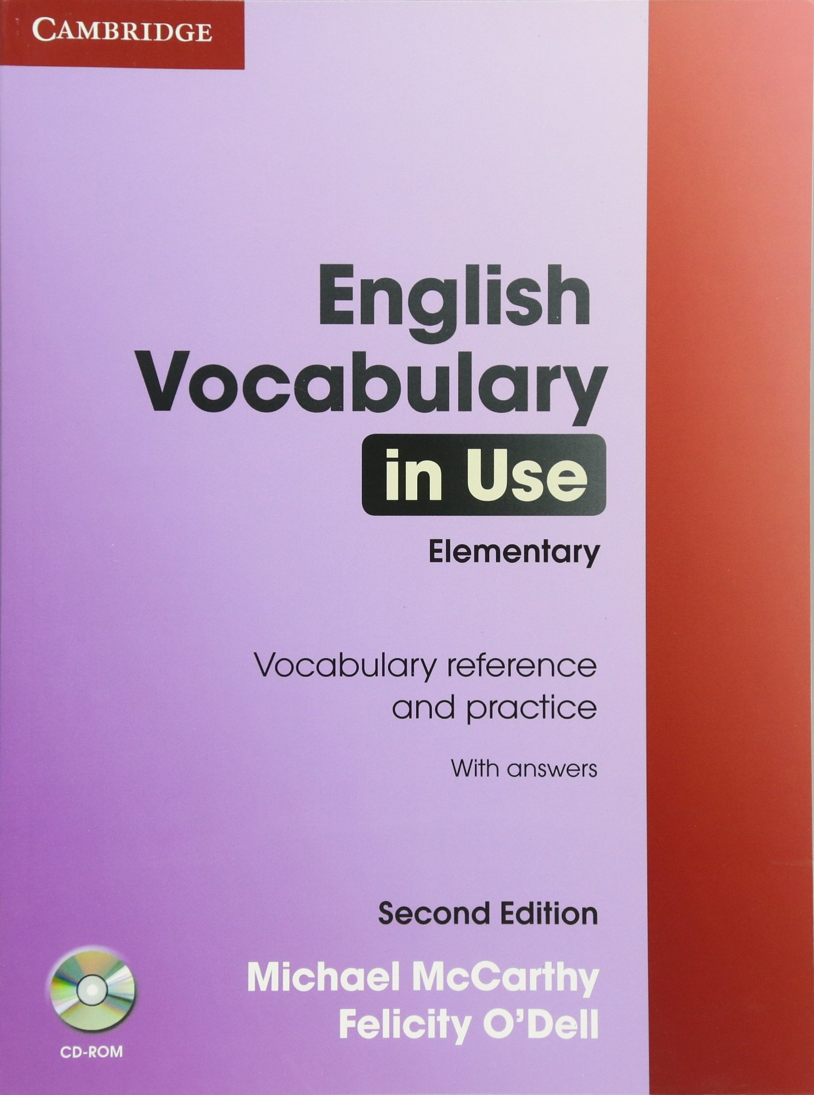 English Vocabulary in Use 2nd Elementary with Answers and CD-ROM ...