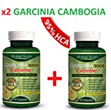 [NEW] 2 X Bottles-3000mg Daily Garcinia