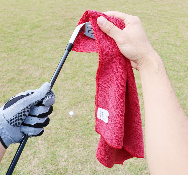 Limpiador de Palos de Golf, Herramienta para Reparar Las Chuletas con Marcador de Pelota, Paquete de Tees de Golf (12 Tees con Soporte) - Accesorios ...