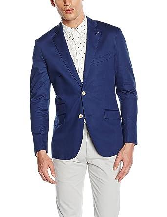 Cortefiel COORD. Tailored ALG/Lino, Blazer para Hombre, Marine Blue, 46: Amazon.es: Ropa y accesorios